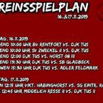 Vereinsspielplan